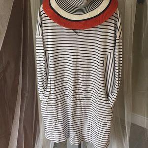 Super Soft Striped Dress with Pockets